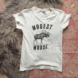 Modest mouse moose shirt